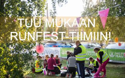 RunFest etsii vapaaehtoisia RunFest Turku -tapahtumaan!